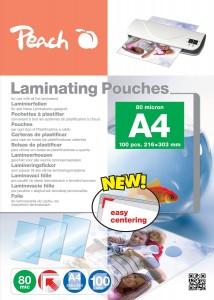 Peach Laminierfolien A4 - 80 Micron